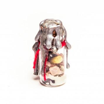 Оберег для защиты ребенка от рождения и до 2-х лет от негатива, сглаза, зависливых людей, порчи Защитная бутылка