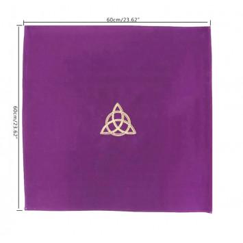 Скатерть алтарная фиолетовая