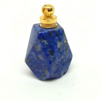 Флакончик из камня для аромамасел и духов, содалит