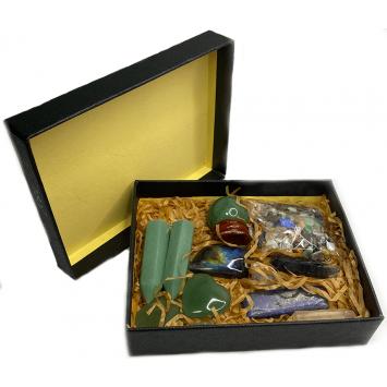 Набор камней авантюрин  для усиления алтаря