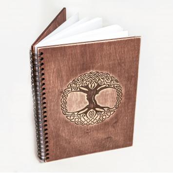 Книга для записи формул и ритуалов коричневая