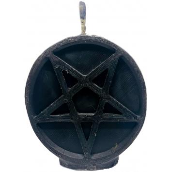 Свеча пентаграмма черная Черная ночь