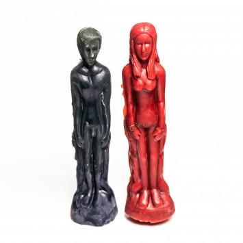 Свечи приворотные (мужчина и женщина)