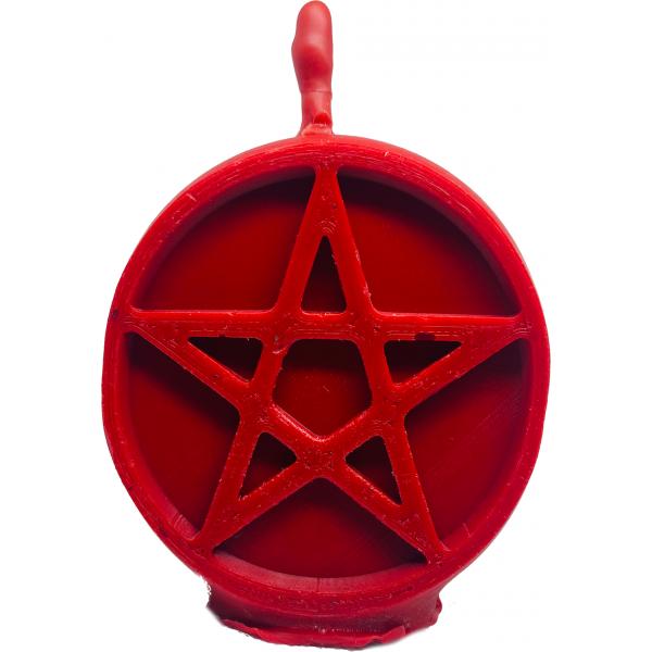 Свеча пентаграмма красная сексуальность