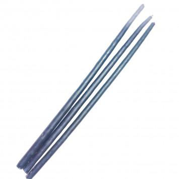 Набор синих восковых свечей, 25 см (10 шт/уп)