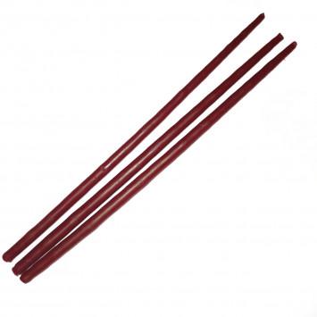 Набор красных восковых свечей, 25 см (10 шт/уп)