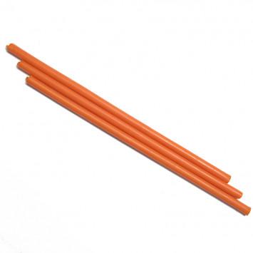 Свеча восковая оранжевая, время горения 1 час